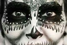 skeleton facepaint
