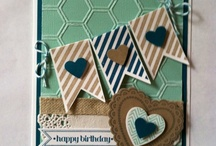 Stampin up Hearts a Flutter / Examples of projects using the stampset from Stampin up