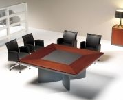 Conference tables by BOS1964 / This category is created to show all different types of conference tables all created and manufactured by BOS1964. We only use high end natural finishes such as wood veneer, genuine leather, glass and piano lacquer. We can make any shape rectangular, squared, round, U-shape, O-shape, barrel shape and all kinds of tecnology can be incorporated.