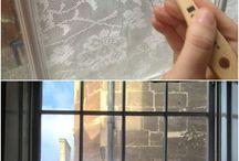 Artesanato - janelas , vidraças , portas etc.