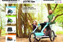 자전거트레일러 / 크루저 자전거트레일러