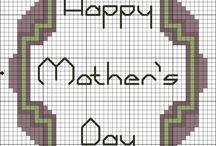 free mother's day cross stitch patterns