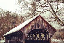 Covered bridges Maine