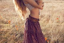 Bohemian, gypsy, vintage..