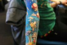 Sonic Tattoos / It's all about the Sonic ink!