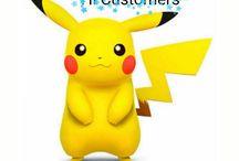 Pikachu Pokemon Go Figures