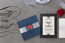 Beauty and the Beast wedding theme