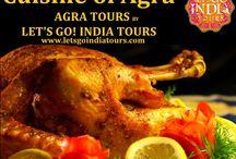 Cuisine of Agra / Read blog on Cuisine of Agra: http://letsgoindiatours.blogspot.in/2016/02/cuisine-of-agra.html