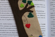 Textille bookmarks