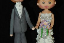 My Figurine Work / Images of Figurine Cake Toppers / by Frances Gill