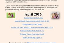 American Cancer Society / Updates on Health Issues that Affect Us All!