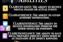 Extra ordinary abilities