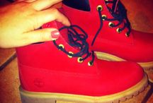Timberland & Villa, RubyRed, Join the movement!  / Timberland Boots Ruby Red 6'