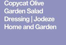 Salad dressing olive garden
