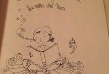 LOS CUENTOS DE FILOMENA LA NIÑA DEL MAR / aquí encontraran las ilustraciones de mi libro de cuentos filomena y el mar también podrán ver las fotos de mi trabajo de narración con mi primer libro de cuentos, ojala amen a filomena como yo
