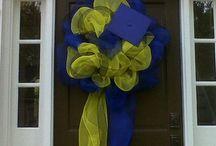 Lexi's Grad Wreath ideas / by Tina Avery