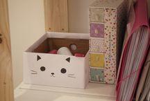 קופסת חתול חמודה