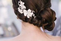 Bridal updos and Make up