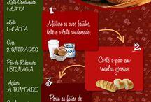 gastronomia - doces / by Cláudia Embuaba