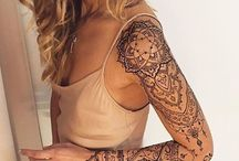 Tattoos / #sleeve #tattoo #teenager #woman #besttattoos #Rose #cat #wrist #floral #trendy #forearm #designs #tiny #small #cool #ideas