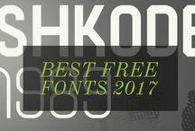 Free Fonts 2017