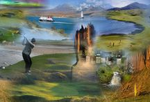 Wilderness Golf, the next Frontier. Highlands & Islands of Scotland / The golf world has started to witness a shift to more remote locations as we push the frontiers of the possible. The Western Isles of Scotland are our Shangri-La. Bleak and isolated, their wild Atlantic facing landscapes are full of beguilingly rugged beauty. Cruising the Western Isles is the ultimate 'chill out' experience for the golfer who wants to travel off the beaten track in a quest for solace, and explore new horizons. Golf's ethereal spirit lives. Find it and release it in yourself.