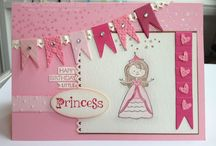 Little Girl Cards