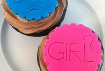 Gender party cupcake ideas