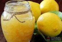geléia de limão