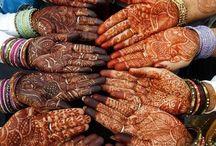 Henna-tatoveringer