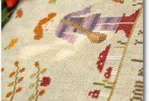 Needlework. Embroidery.