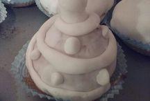 Muffin con pasta di zucchero