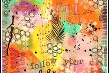 Art journal ideas / by Tanya-Faye Ostrea