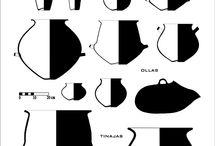 dibujos de ceramica precolombina
