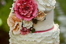 Wedding Cake Shoot / Combination of chosen styling and background ideas for Styled shoots / by Dotty Doily