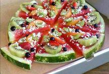 ruoka, hedelmät