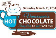 Vancouver's Hot Chocolate Run 10.4km & 5 km / Walk Jog Run Www.tryevents.ca