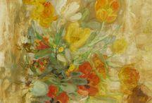 Художник ЛЕ ФО. Le Pho / Le Pho, (2 августа 1907 года - 12 декабря 2001 года) - вьетнамский живописец. В 1932 году получил стипендию для учебы в Художественной школе в Париже.  Удивительно светлые произведения - только сочные краски и разлитый повсюду солнечный свет.