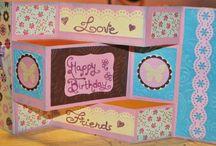 card / card in cartoncino