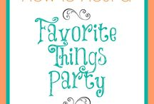 My Favorite Things Party