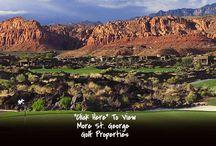 St. George Utah Golf Properties For Sale