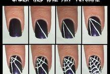 Spinnenweb nagels