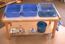 Montessori wash station