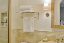 BATHROOM PROJECTS / Client projects from complete bathroom renovations to newly designed bathroom flooring, vanities, fixtures, mirrors, window treatments and lighting.