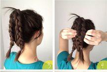 hair arranges