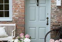 Cherry Menlove's Favourite Front Doors & Porches / If you love the welcoming site of a beautiful front door or sitting on the porch with a cool drink then you'll love the ideas found here.