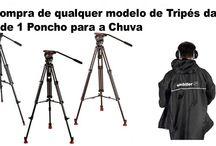 Para a Chuva / Proteja-se sempre que estiver a filmar ou fotografar em exterior.
