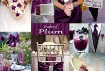 Wedding inspiration plum,purple,mauve / All things shades of purple  for weddings and events