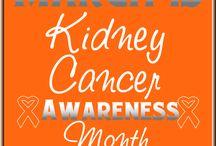 kidney cancer / by Kelley Marsh Brooks
