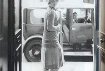 Ladies 1920`s fashion / WW  ladies fashion during the 1920`s